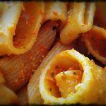 Pasta al pesto leggero di peperoni