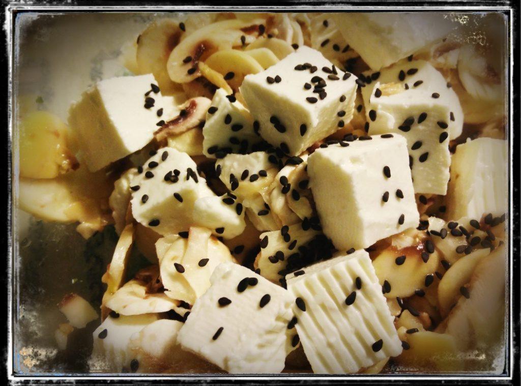 Insalata di champignon freschi e Primosale