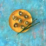 Rotolini di zucchine grigliate e robiola