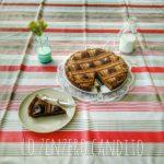 Frolla croccante al cacao con crema cotta al caffè