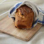 Pane dolce con uvetta e miele al mandarino