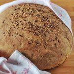 Pane rustico con esubero di lievito madre