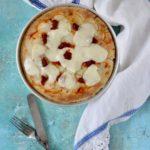 Pizza bianca con patate 'nduja e scamorza